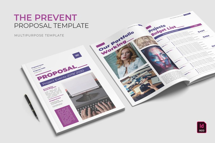 Prevent | Proposal Template