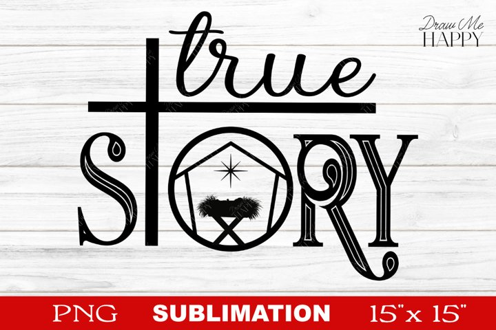 Christian Sublimation, True Story Sublimation