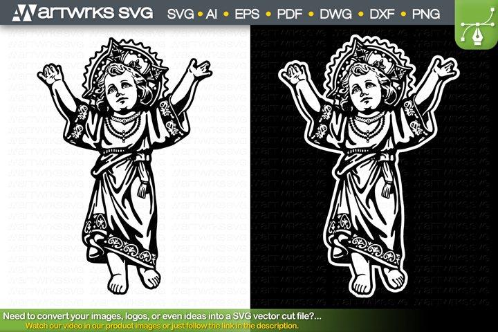Divine Child SVG Divino Nino Religious SVG by Artworks SVG