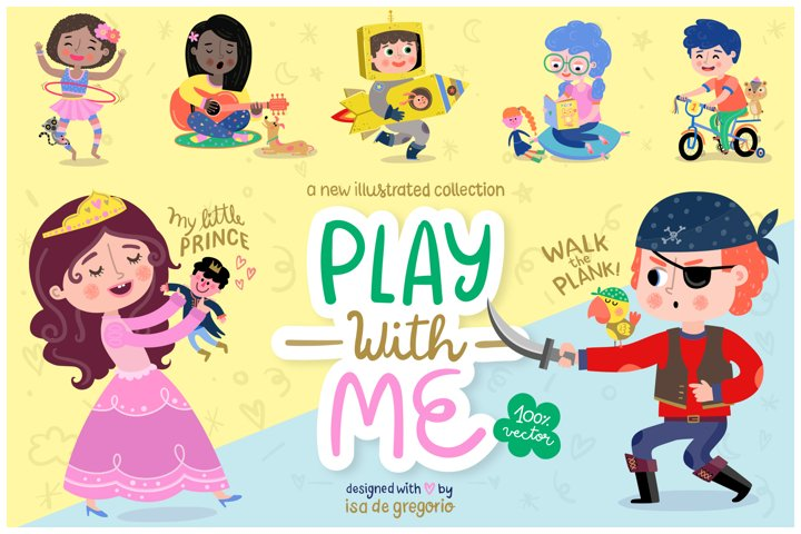 Play with me. Children collection