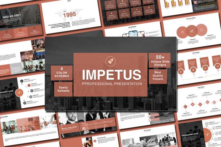 Multipurpose company profile presentation