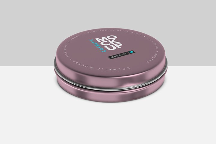 Can for cosmetics or food - Mockup