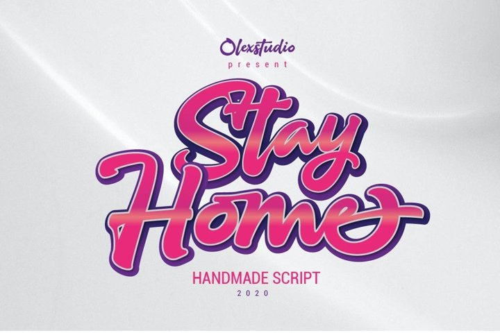 STAY HOME - Script