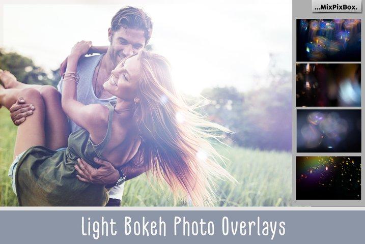 60 Light Bokeh Overlays