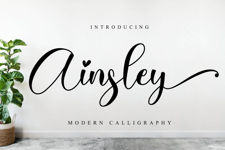 Ainsley Script