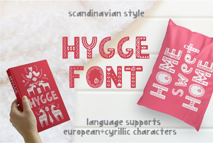 Hygge Scandinavian font
