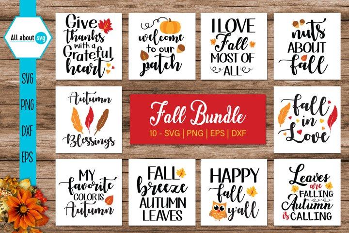 Fall Quotes Bundle, Autumn Bundle
