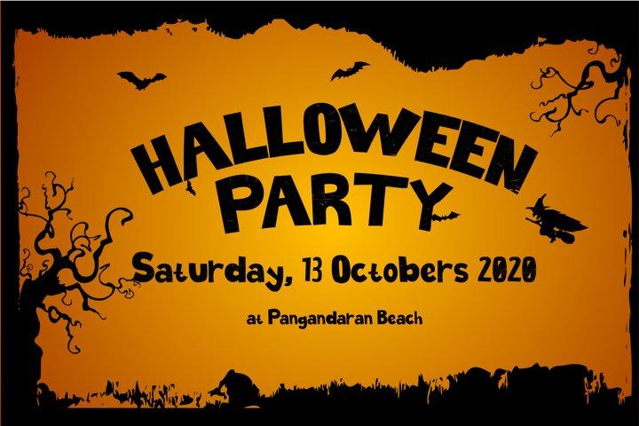 Halloween Spokeland Cartoon Font - Free Font Of The Week Design2