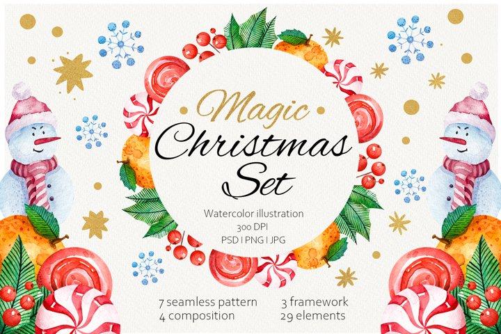 Magic Christmas Set