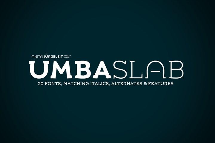 Umba Slab Family
