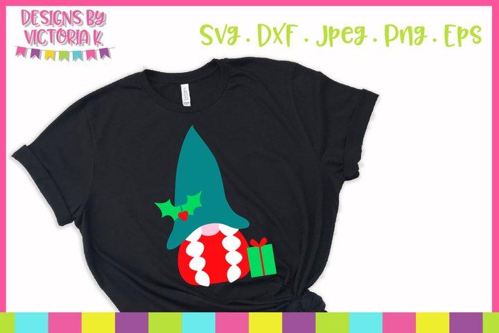 Christmas gnome, SVG, DXF