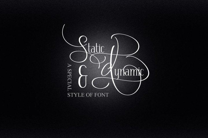Dynamic And Static Font