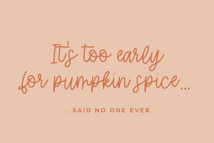 Hey Pumpkin Script Font - Free Font Of The Week Design3