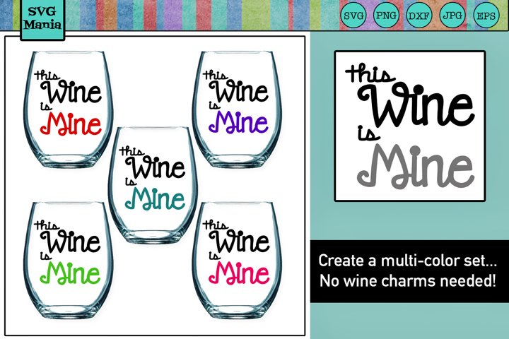 WINE GLASS SVG, Wine SVG File, Funny Wine Glass Saying SVG