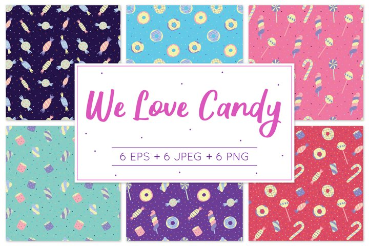 We Love Candy - Pattern Design