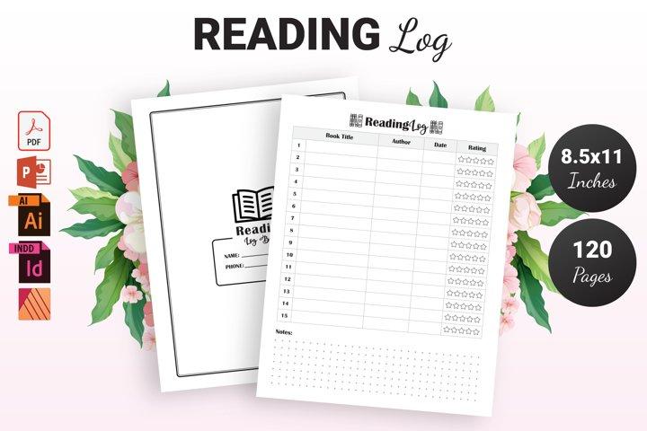 Reading Log - KDP Interior
