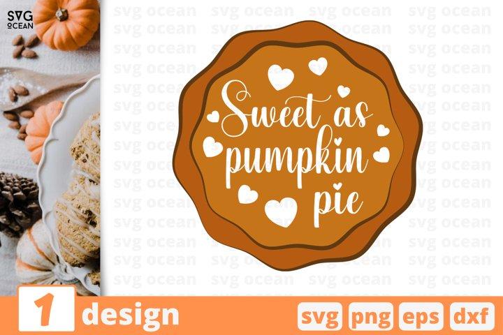 Pumpkin pie SVG Cut file | Fall cricut |Autumn quote