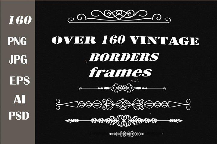 Frames. Borders. Vintage borders and frames.