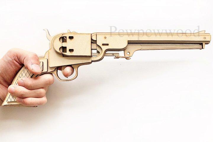 Revolver Rubber band gun file
