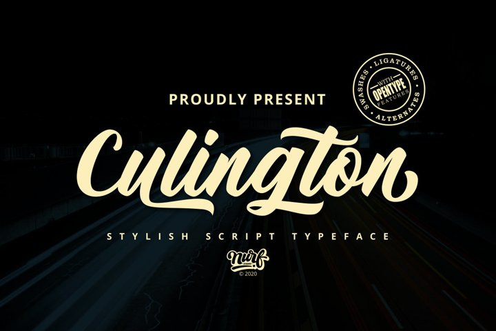 Culington - Web Font