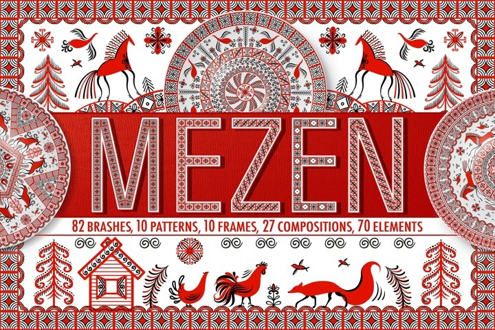 Mezen Painting.