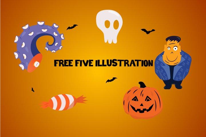 Halloween Spokeland Cartoon Font - Free Font Of The Week Design5