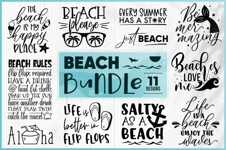 Beach Bundle SVG - Summer Bundle SVG - Vacation Bundle SVG