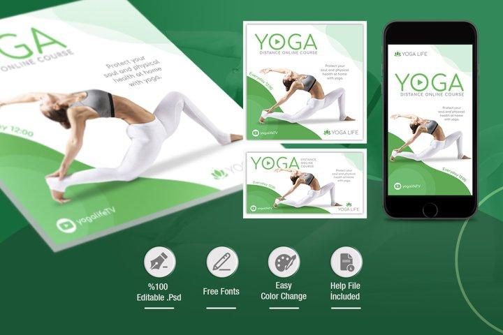 Yoga Social Media Pack