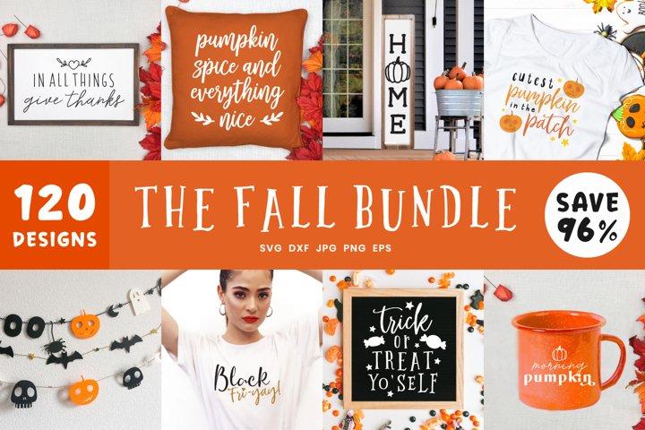Fall Craft Svg Bundle| 120 Autumn Mega SVG Bundle Cut Files