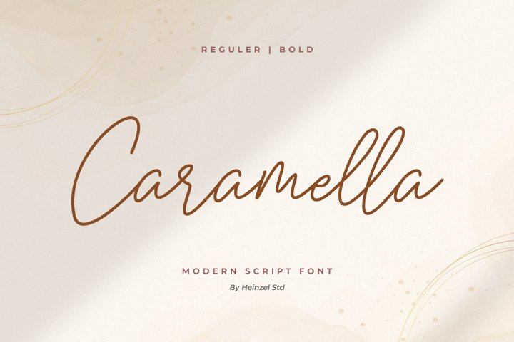 Caramella Script I Sale