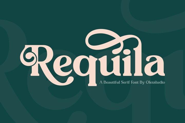 REQUILA - Vintage Serif