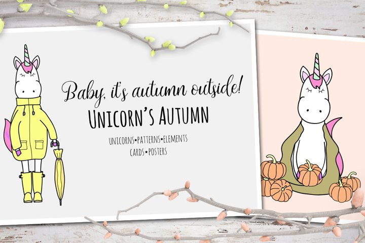 Unicorns autumn