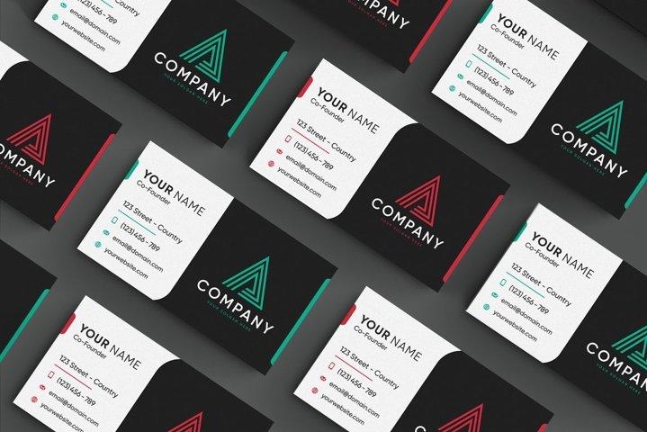 2 Creative Modern Business Card