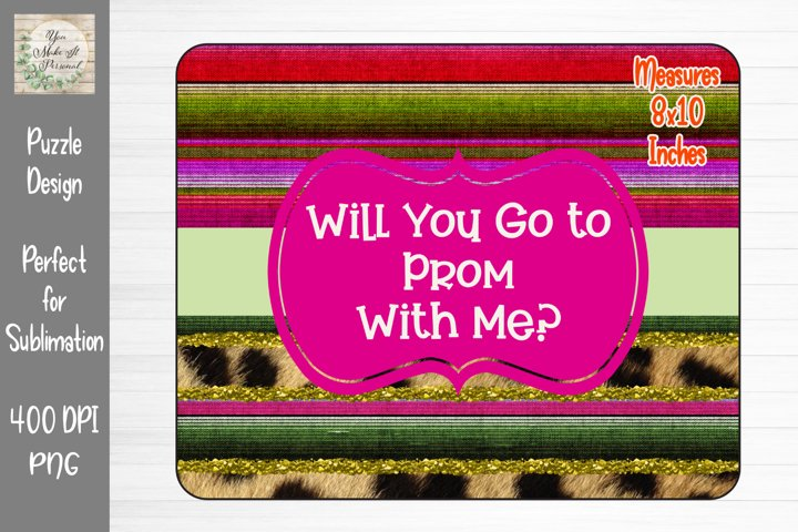 Prom Proposal, Perfect for Sublimating Puzzles, Shirts, Etc.