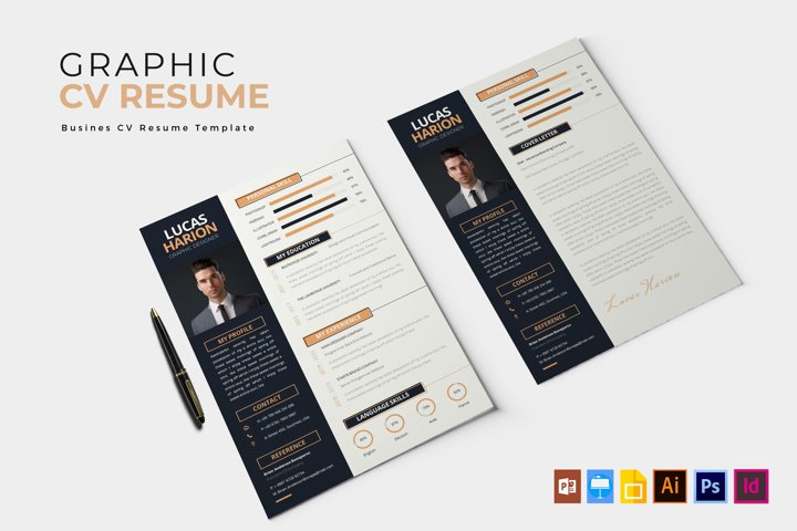Graphic Layouter | CV & Resume