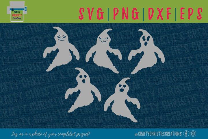 Ghost SVG - Boos SVG - Spooky SVG - Halloween SVG -Ghost PNG
