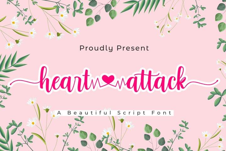 Heart Attack | A Lovely Script Fpnt