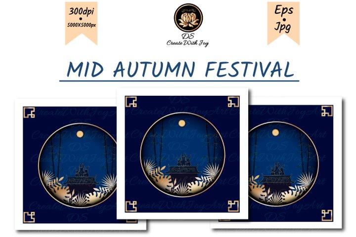 Mid-Autumn Festival. Moon watching