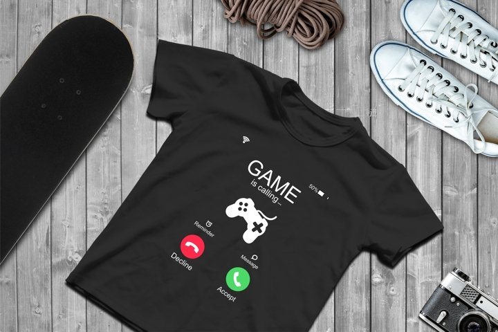 Incoming Call SVG, Call Screen Files For Cricut Silhouette