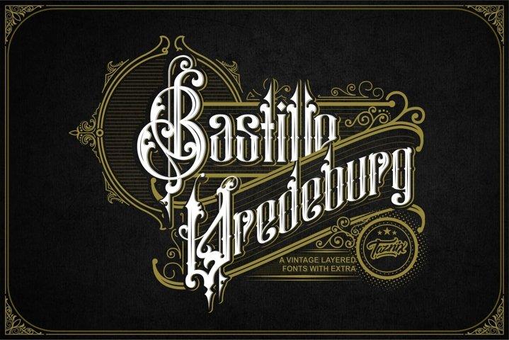 Bastille Vredeburg Vintage Layered Extra