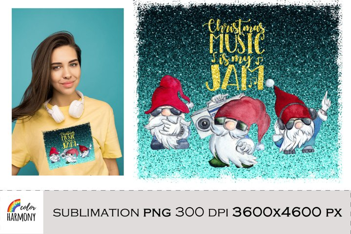Christmas Gnomes png sublimation design