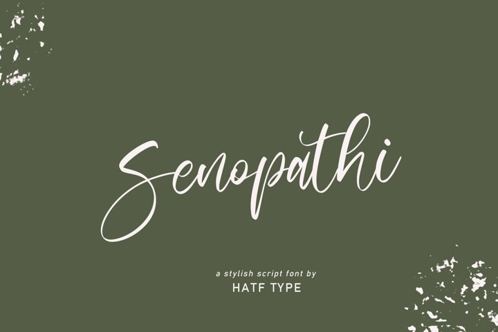 senopathi - Beautiful Script
