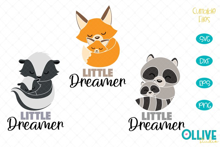 Baby Animals Little Dreamer SVG Bundle