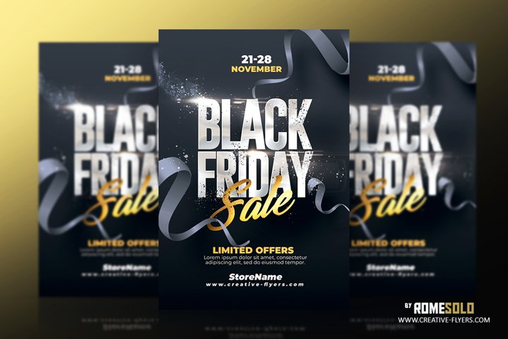 Black Friday Flyer Template v5
