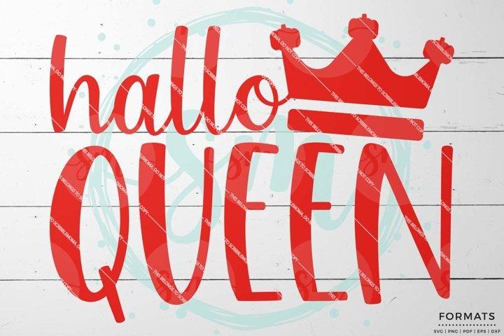 Halloween Queen SVG