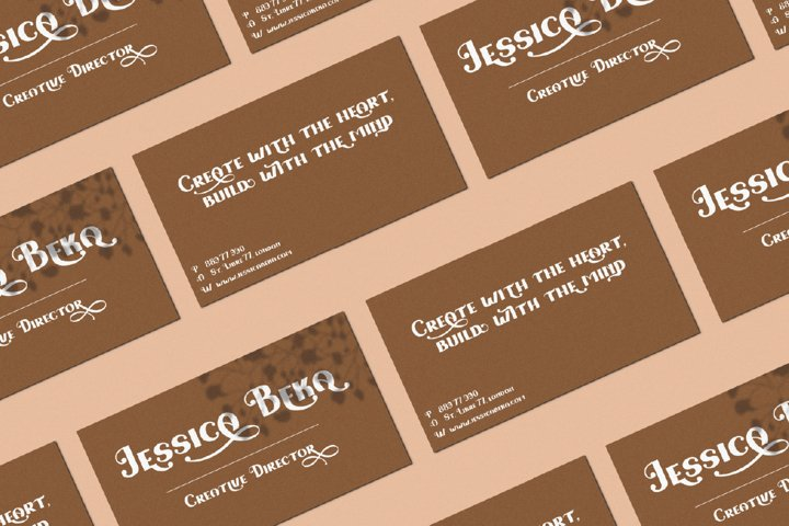 Love Fairy - Modern Display Font example 6