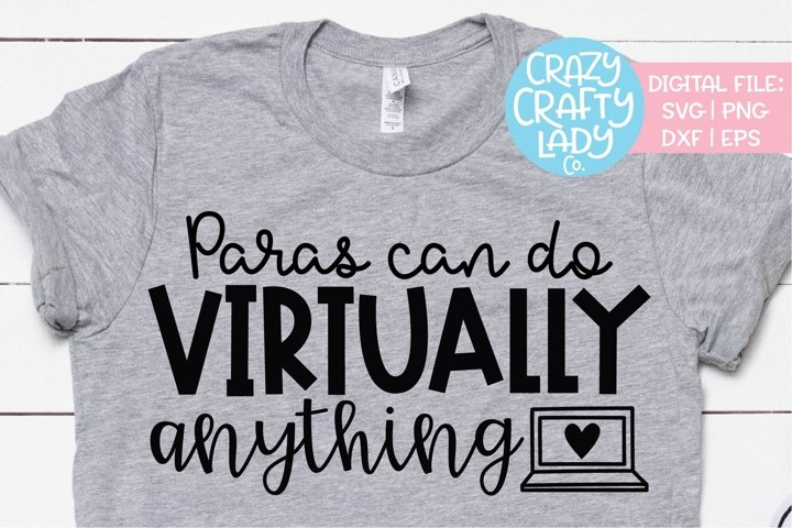 Paras Can Do Virtually Anything SVG DXF EPS Cut File