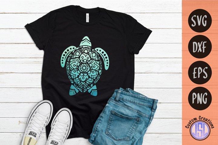 Mandala Turtle | Mandala SVG Download | SVG DXF EPS PNG