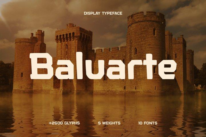 Baluarte Typeface