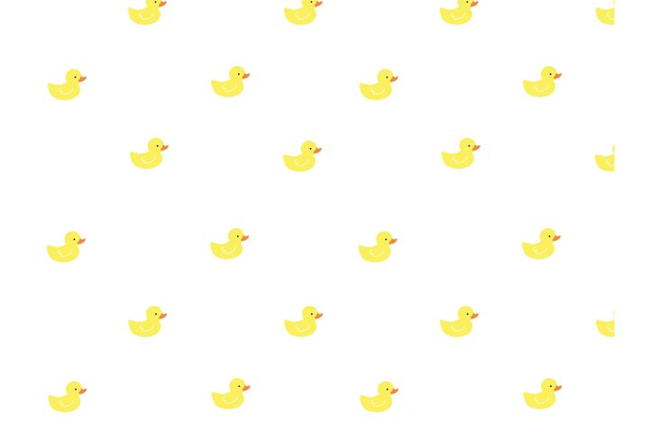 Rubber Ducky Seamless Pattern